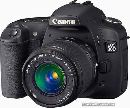 canon EOS 30D   مرکز دوربین های دیجیتالcanon EOS 30D