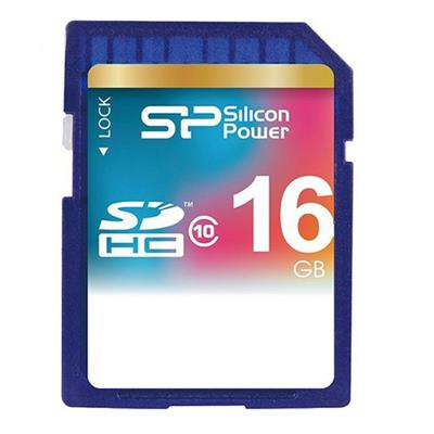 کارت حافظه Silicon Power SDHC Class 10 - 16GB