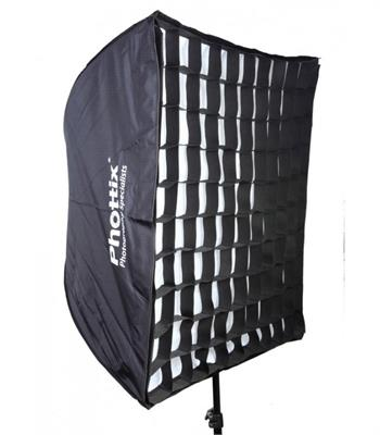 سافت باکس Phottix 70x70 cm Easy-Up Softbox with Grid Varos XS Combo Kit