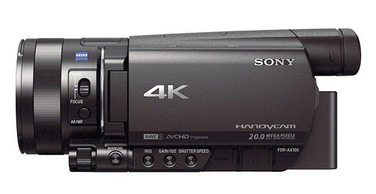 دوربین فیلمبرداری سونی Sony FDR-AX100 3