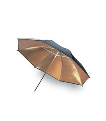 سافت باکس Double-Layer 80cm Gold (Inside) Black (Outside) Umbrella S-31