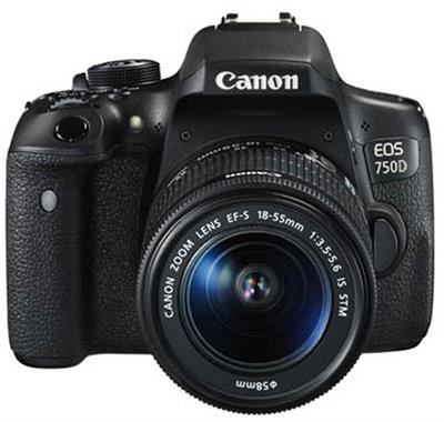دوربین کانن Canon 750D / Rebel t6i kit 18-55
