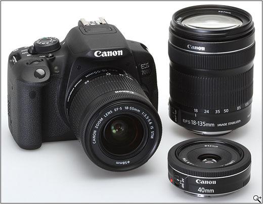 قیمت روز دوربین دیجیتال 700d با لنز 18-135