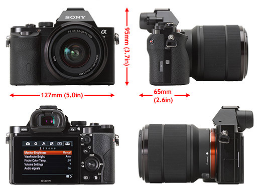 قیمت دوربین سونی آلفا 7