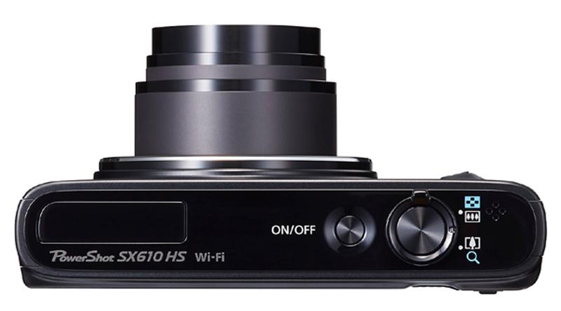 canon poweshot SX610 1