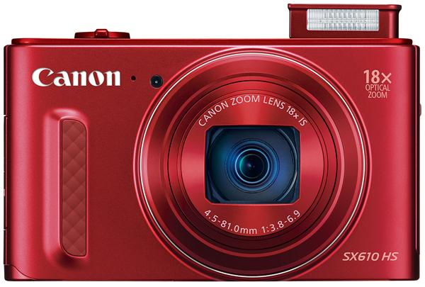 canon poweshot SX610 8