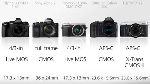 mirrorless cameras 13